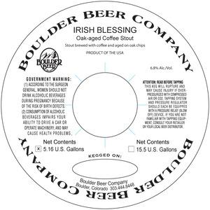 Irish Blessing Oak-aged Coffee Stout