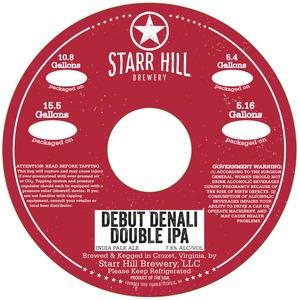 Starr Hill Debut Denali Double IPA
