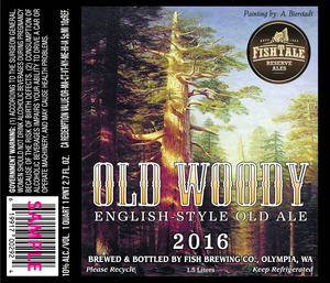 Fish Tale Reserve Ales Old Woody