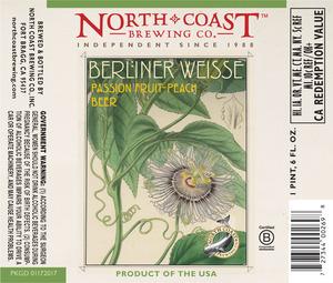 North Coast Passion Fruit Peach Berliner