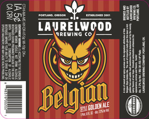 Laurelwood Brewing Co. Belgian Golden Ale
