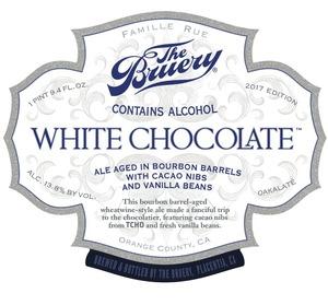 The Bruery White Chocolate (2017)