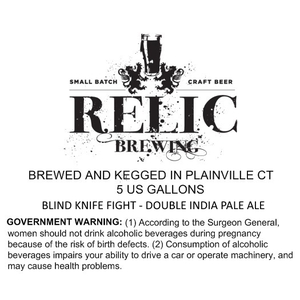 Relic Brewing Blind Knife Fight
