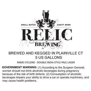 Relic Brewing Rabid Cyclone