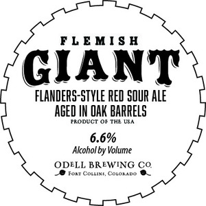 Odell Brewing Company Flemish Giant