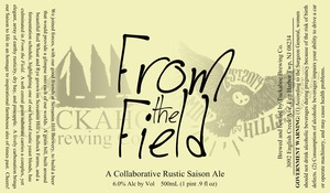 Tuckahoe Brewing Company From The Field Ale