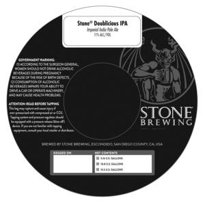 Stone Doublicious Ipa