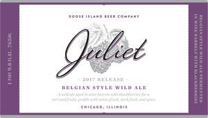 Goose Island Beer Company Juliet