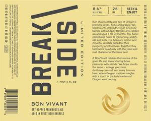 Breakside Brewery Bon Vivant
