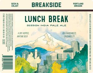 Breakside Brewery Lunch Break