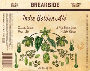 Breakside Brewery India Golden Ale