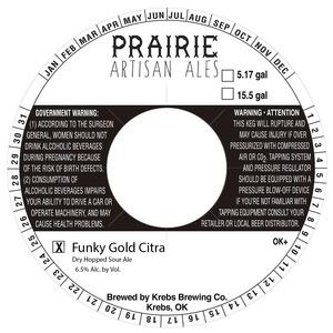 Prairie Artisan Ales Funky Gold Citra