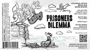 Off Color Brewing Prisoner's Dilemma