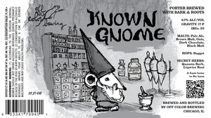 Off Color Brewing Known Gnome