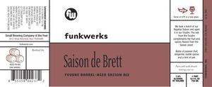 Funkwerks, Inc. Saison De Brett