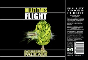 Shebeen Brewing Company Bullet Takes Flight