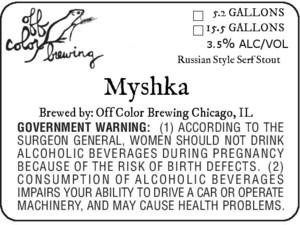 Off Color Brewing Myshka