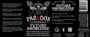 Paradox Beer Company Future Knowledge