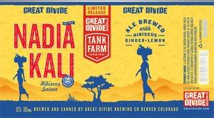 Great Divide Brewing Company Nadia Kali