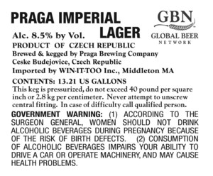 Praga Imperial Lager