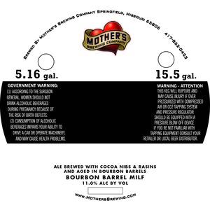 Mother's Brewing Company Bourbon Barrel Milf