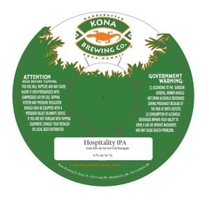 Kona Brewing Co. Hospitality IPA
