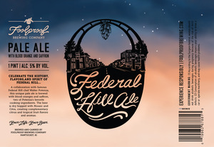 Foolproof Brewing Company Federal Hill Ale