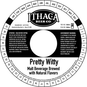 Ithaca Beer Company Pretty Witty