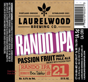 Laurelwood Brewing Co. Rando #21