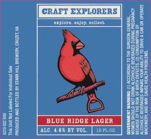 Starr Hill Blue Ridge Lager
