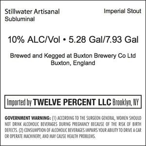 Stillwater Artisanal Subluminal