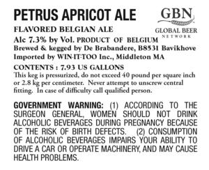 Petrus Apricot Ale