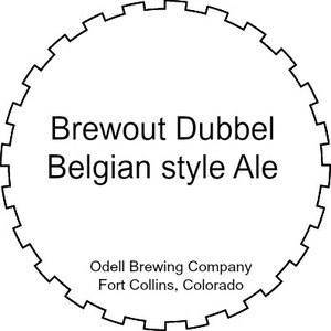 Odell Brewing Company Brewout Dubbel