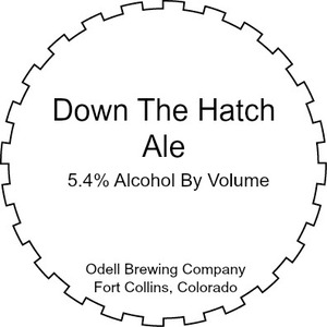 Odell Brewing Company Down The Hatch