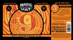 Magic Hat #9 Not Quite Pale Ale