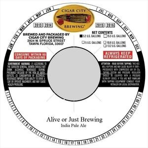 Alive Or Just Brewing