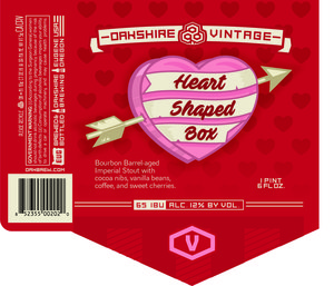 Heart Shaped Box Bourbon Barrel-aged Imperial Stout