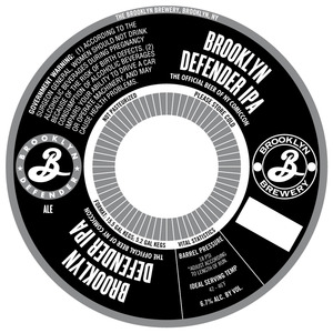 Brooklyn Defender IPA