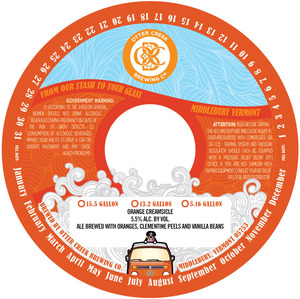 Otter Creek Brewing Company Orange Creamsicle