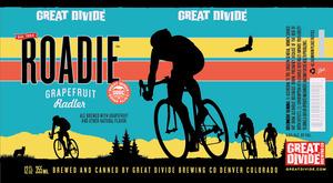 Great Divide Brewing Company Roadie Grapefruit Radler