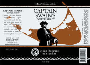 Cisco Brewers Captain Swain's Coffee Stout