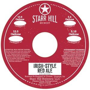 Starr Hill Irish Red Ale