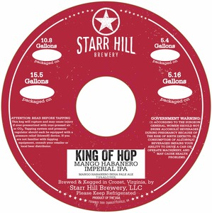 Starr Hill King Of Hop Mango Habanero