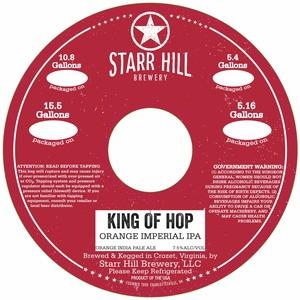 Starr Hill King Of Hop Orange