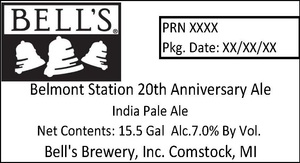 Bell's Belmont Station 20th Anniversary Ale