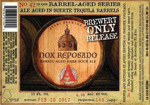 Avery Brewing Co. Nox Reposado