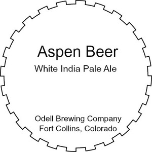Odell Brewing Company Aspen Beer