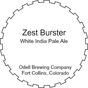 Odell Brewing Company Zest Burster