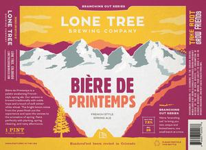 Lone Tree Brewing Company Biere De Printemps