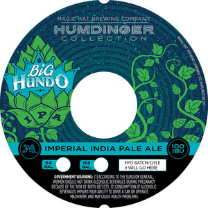 Humdinger Collection Big Hundo Imperial India Pale Ale